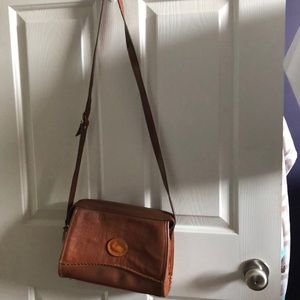 Vintage Dooney & Bourke All Leather Weather Bag
